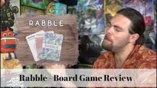 Rabble - Kickstarter Board Game Review