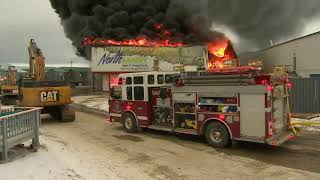 1 of Iqaluit's 2 grocery stores on fire