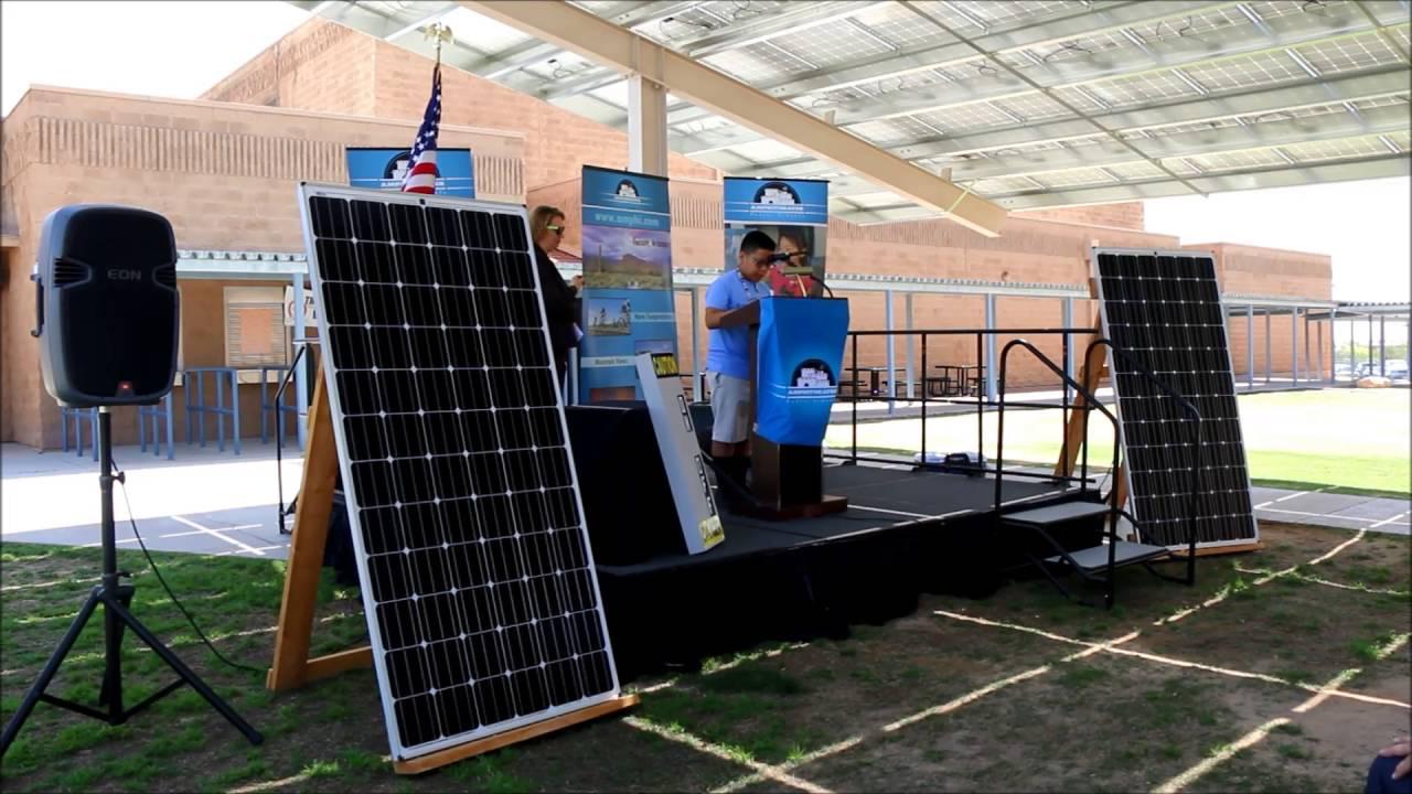 la cima student reads 1st place solar essay la cima student reads 1st place solar essay