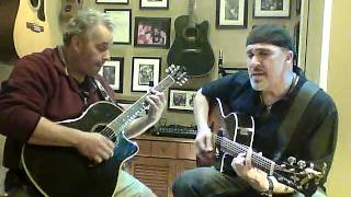 Black Magic Woman Santana Cover by the Miller Brothers