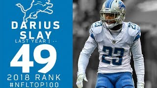 #49: Darius Slay (CB, Lions) | Top 100 Players of 2018 | NFL