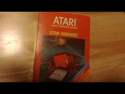 Unboxing Unopened Atari 2600 Game From 1982 Star Raiders!  