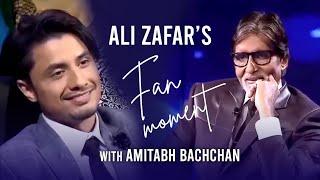 Ali Zafar's fan moment with Amitabh Bachchan | Kill Dil Cast | KBC