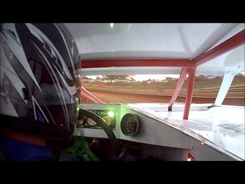 In car cam of Justin Taylor @ MMSA Toccoa Speedway