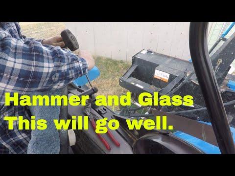 Fixing the rear window