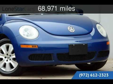 2008 Volkswagen New Beetle S Used Cars - Plano,Texas - 2016-05-19