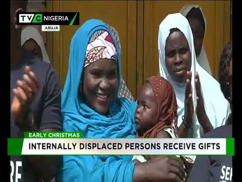 Early Christmas: Internally Displaced Persons receive gifts