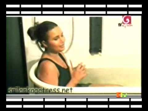 Sri Lanka Actress  Bikini Model Miss world  Rozan Dias Oile Massage and Bathing   part-4  