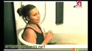 Sri Lanka Actress  Bikini Model Miss world  Rozan Dias Oile Massage and Bathing | part-4 |