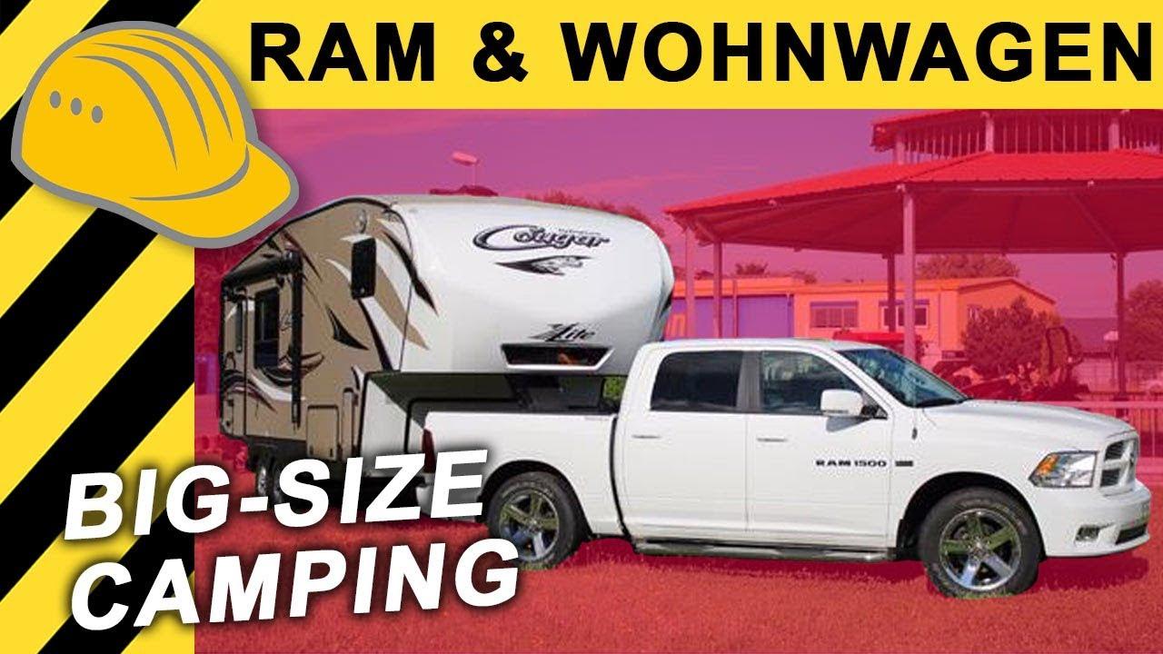 Dodge Ram Fifth Wheel Wohnauflieger Roomtour Us Wohnwagen Mit Sattelkupplung 120 000 Camper