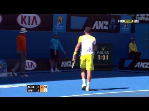 AO 2013 R4 Almagro vs Tipsarevic