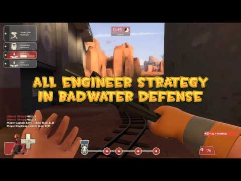 TF2 Tactics: All Engineer Defense in Badwater