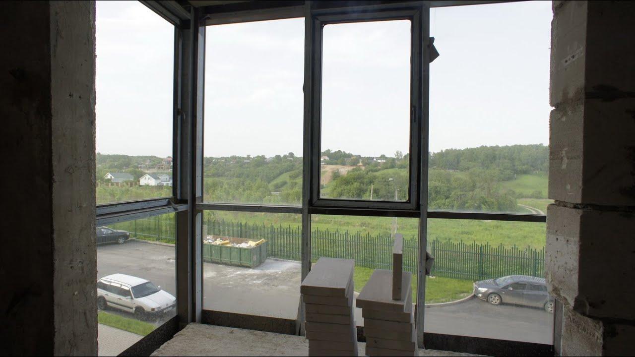 Фасадное - панорамное остекление и утепление лоджии/балкона .