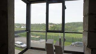 видео Утепление балкона с фасадным остеклением