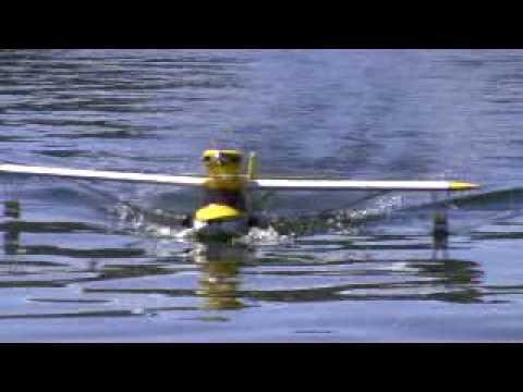 Maiden Flight Of RC Anderson Super Kingfisher  Seaplane