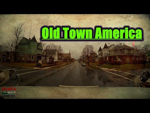 Old Town America Rudi's NORTH AMERICAN ADVENTURES 01/12/18 Vlog#1311