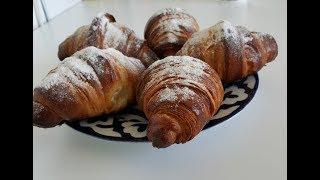 Французский Круассан из слоёного дрожжевого теста в домашних условиях / French Croissant at home
