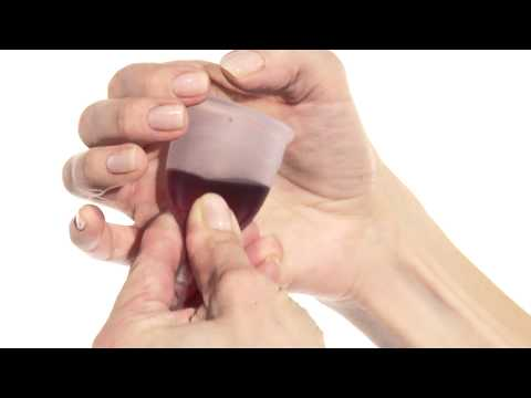 How To Insert And Clean The Lunette Menstrual Cup