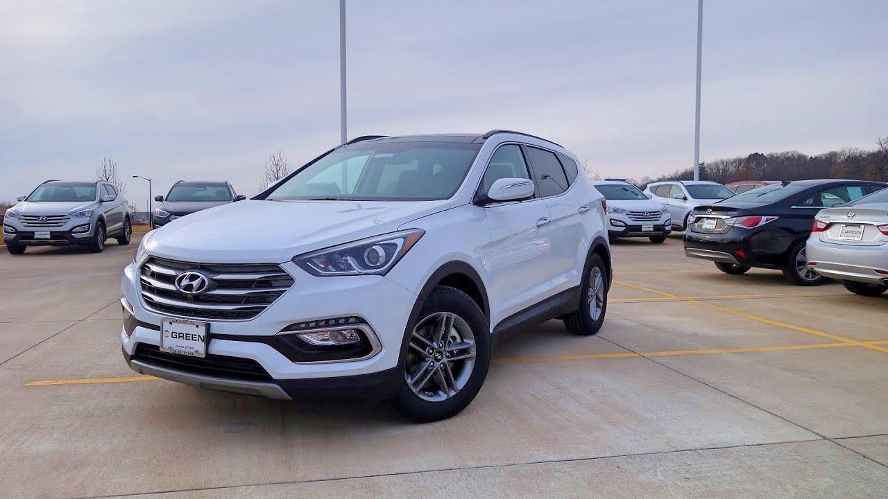 2017 Hyundai Santa Fe Sport W Tech Package Walkaround Interior Tour You