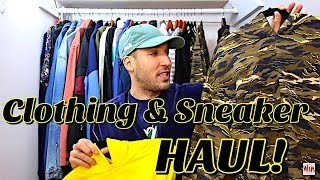 HUGE SNEAKER & CLOTHING HAUL! ALL THIS DROPPED TODAY!
