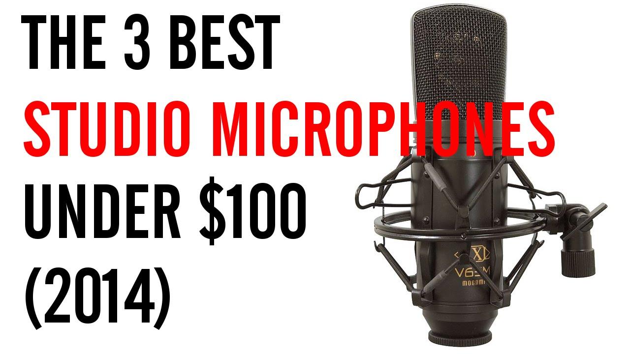 the 3 best studio microphones under 100 2014 youtube. Black Bedroom Furniture Sets. Home Design Ideas