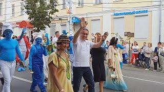 Карнавальное шествие 🎭 Калуге 650 Праздник продолжается #Калуга650#карнавал#праздник