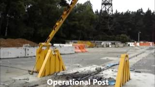 PAS 68 Crash Test of Vehicle Security Barrier - Hostile Vehicle Mitigation Thumbnail