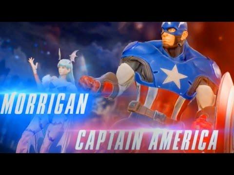 Marvel Vs. Capcom Infinite: Captain America & Morrigan Gameplay Reveal Trailer!