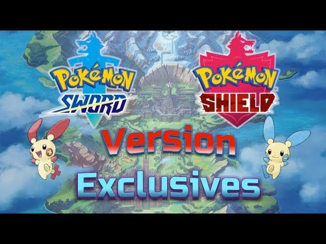 Pokemon Sword And Shield Version Exclusives I D Like To See Youtube