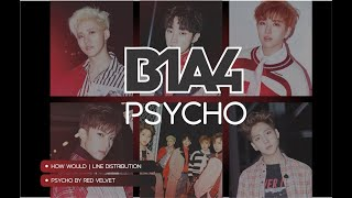 "How Would B1A4 sing ""Psycho"" (Red Velvet) 