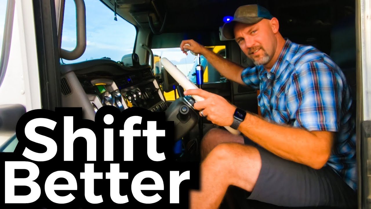 How To Shift A Big Rig EASILY!