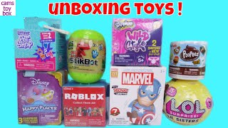 Disney LOL Surprise TOYS Roblox StickBot Marvel Poopeez Unboxing Fun Kids