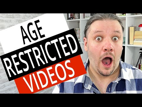 How To Turn On Off Video Age Restriction With NEW YouTube Studio 2019