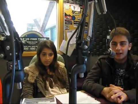 Armenian Radio Interview Hovnanian School Students