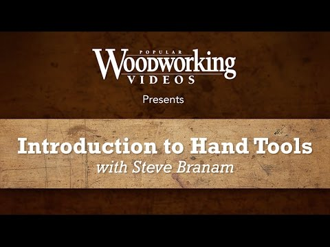 Introduction to Hand Tools - Welcome!