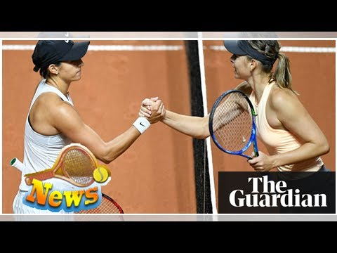 Maria sharapova to drop out of top 50 after caroline garcia defeat