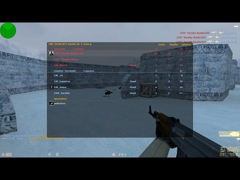 CS 1.6 - GameWarriorS vs 1337Faculty - Scout Troll