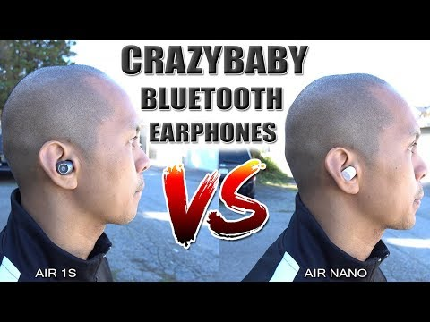 crazybaby-air-1s/air-nano-vs-apple-airpods-bluetooth/wireless-earphones-[4k]