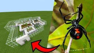 How To Make a BLACK WIDOW Farm in Minecraft PE | MCPE Journalist