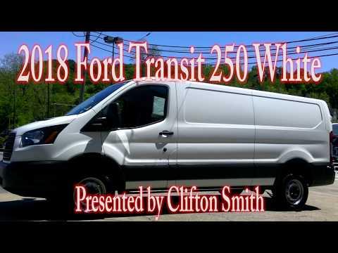 Limbaugh Toyota - 2018 Ford Transit 250 White
