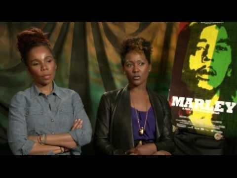 EXCLUSIVE VIDEO: Karen and Cedella Marley Talk 'Marley'