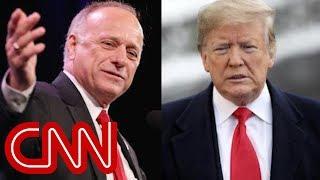 CNN analyst questions difference between King and Trump