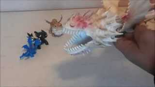 Dragon Toys: Screaming Death Vs  Whispering Death from How to Train Your Dragon