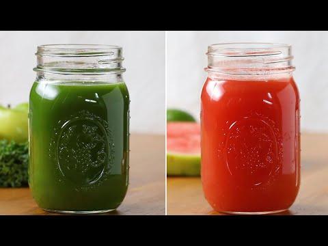 Refreshing Veggie-Packed Juices