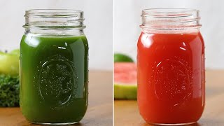 Refreshing Veggie-Packed Juices