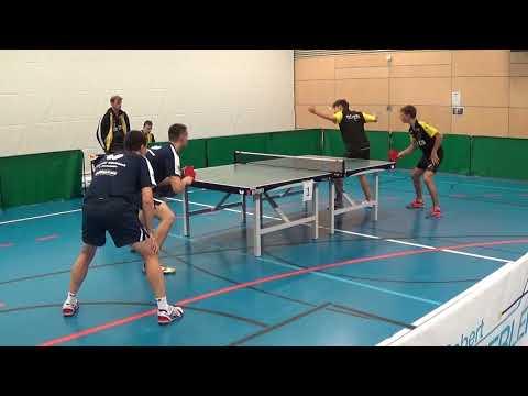 Oberliga Bayern Tischtennis Ehret Kostadinov TSV Windsbach vs Hoermann Stumpf HoTV Hilpoltstein II