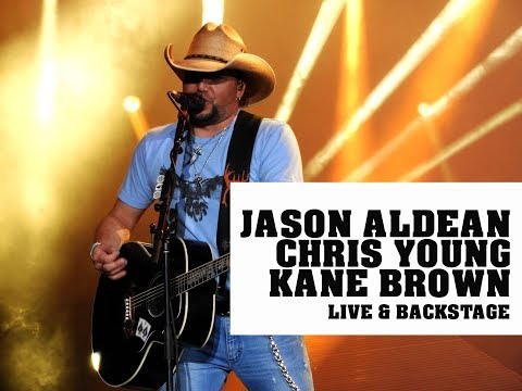 Jason Aldean, Chris Young  and Kane Brown  & Backstage They Dont Know Tour