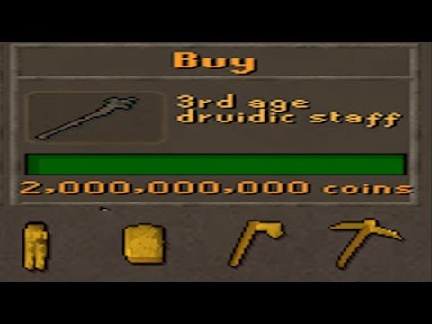 3rd Age Druidic Staff & NEW Clue Rewards Review!