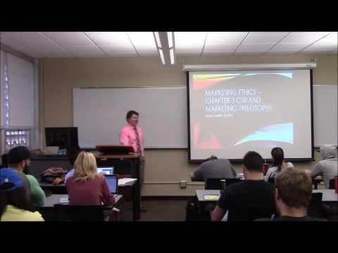 Marketing Ethics - Marketing Philosophies and CSR