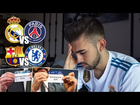 HINCHA del REAL MADRID reacciona al SORTEO de OCTAVOS UEFA Champions League | Real Madrid vs PSG